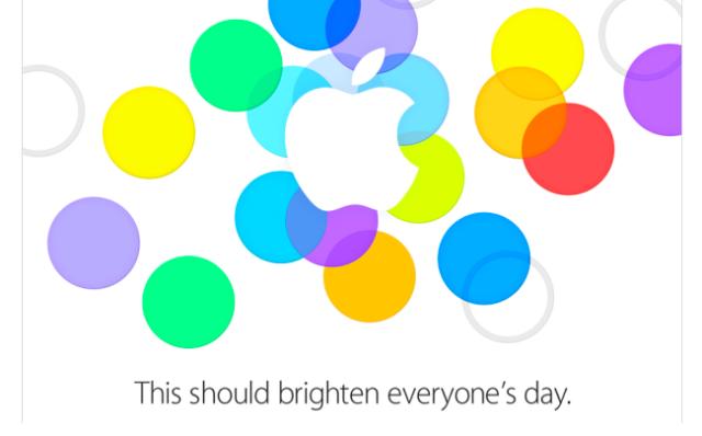 Apple Event - September 10, 2013