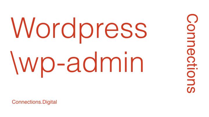 Wordpress - How to Login